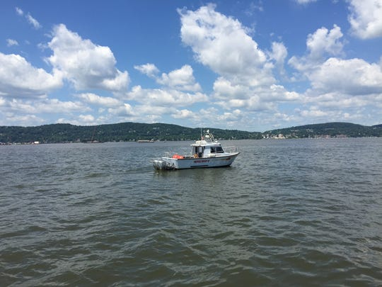 The Rockland sheriff's marine unit patrols the Hudson River in June. The department is getting a $246,000 federal grant toward a new boat.