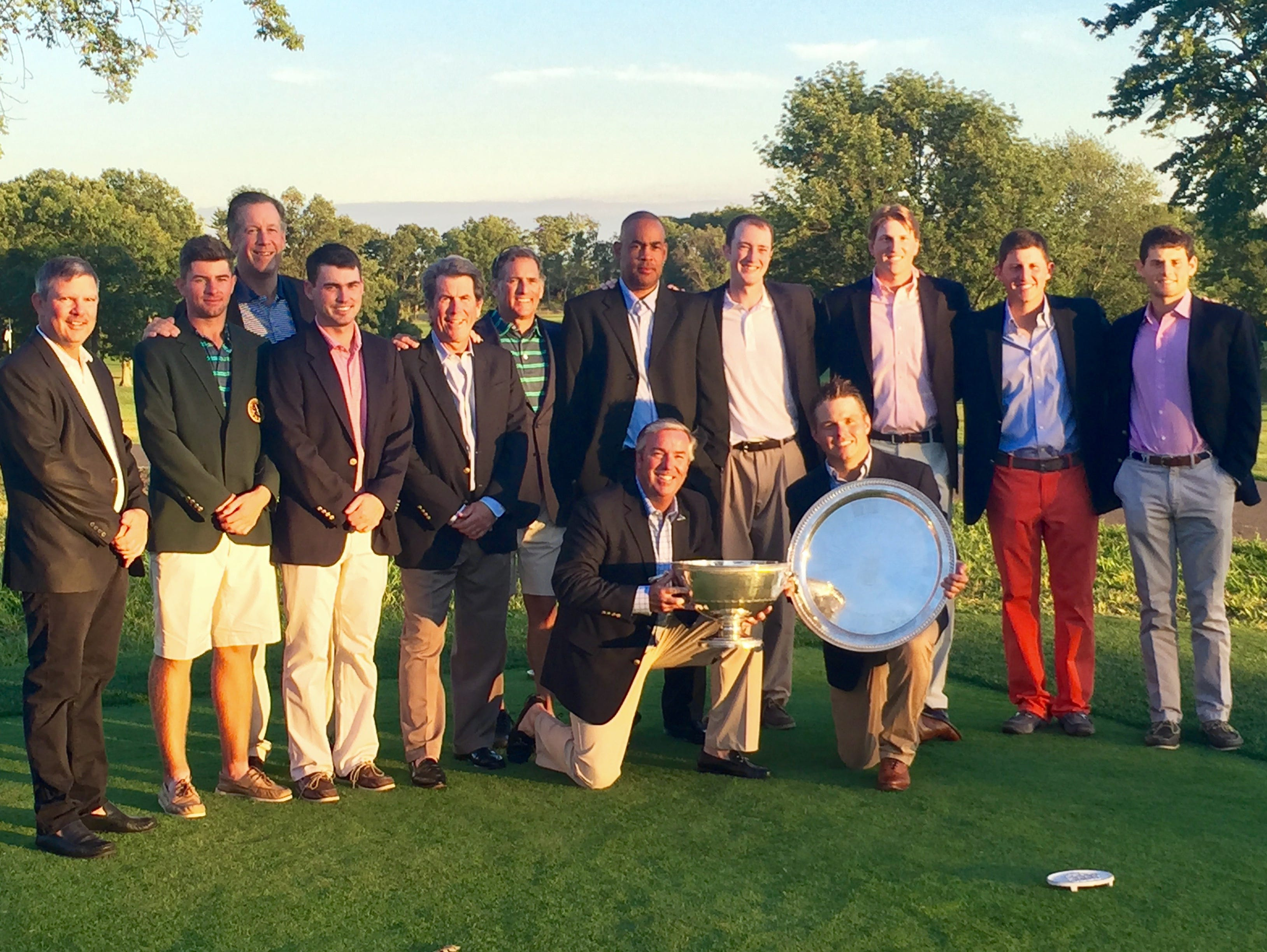 The Westchester Golf Association team came back to win the Stoddard Trophy Matches at Essex County Country Club.