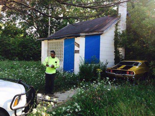 Ernest Webster, 48, discovered the stolen Papa John's
