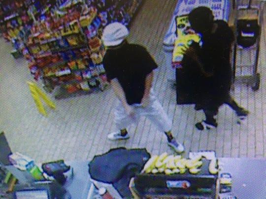 Surveillance photo of 7/Eleven robbery
