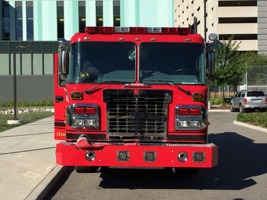 New Detroit Fire Engines
