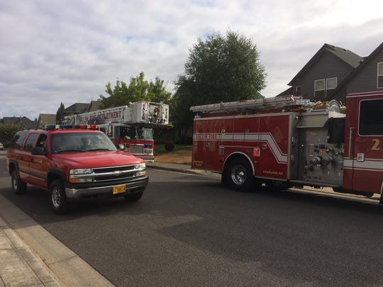 Salem Fire responds to gas leak in West Salem.
