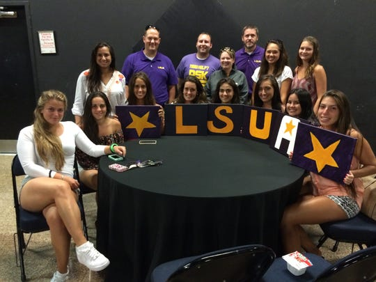 Supporters of the LSUA quiz bowl team were out in force at the Corporate Quiz Bowl Alexandria on Tuesday.
