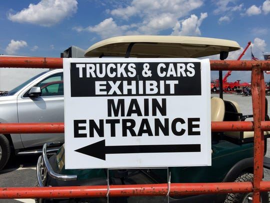 Big Truck & Auto Show in Fishersville.