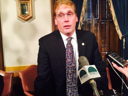 Michigan state Rep. Ed McBroom, R-Vulcan, is chairman
