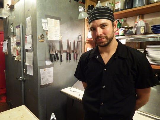 Daniel Knowles, executive chef at Devotay in Iowa City.
