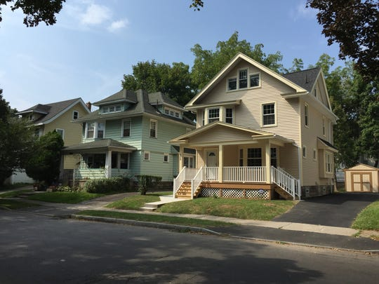 675 Post Avenue, a formerly vacant home renovated by Greater Rochester Housing Partnership via its HOME Rochester program.