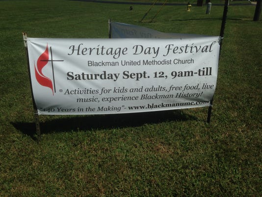 Heritage Day Sign