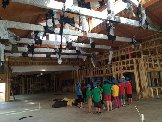 Boys & Girls Club of Portage County provided a tour of its new Stevens Point Clubhouse, located at 2442 Sims Avenue, on Wednesday, Sept. 9, 2015. The facility is expected to open in November.