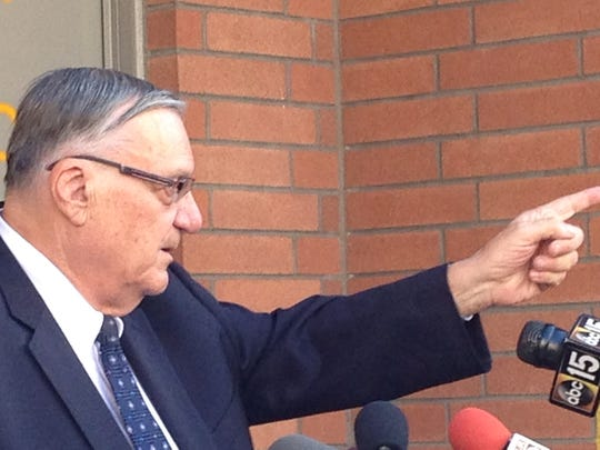 Sheriff Joe Arpaio announced Thursday that he's cracking