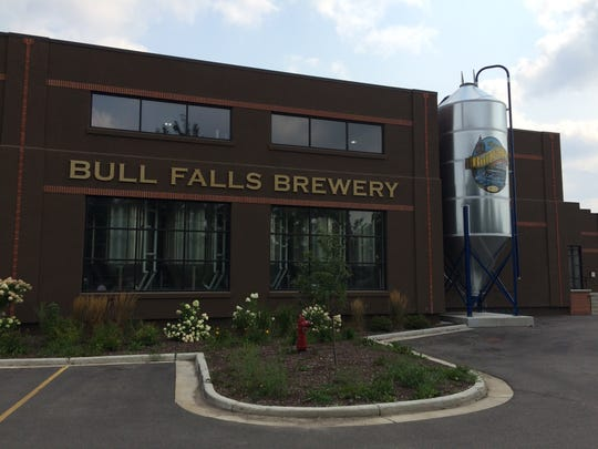Bull Falls Brewery in Wausau was established in 2007 and expanded in 2013.
