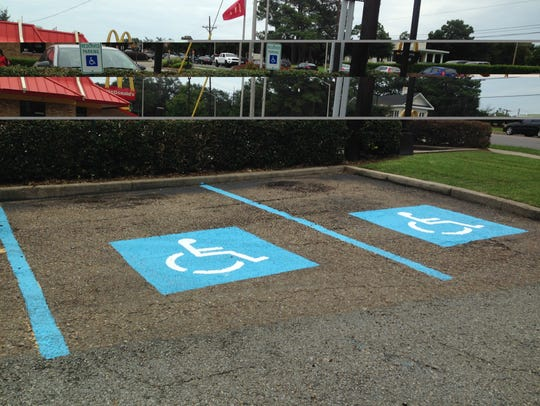 Handicapped parking is now available at Bisbano's Pizza