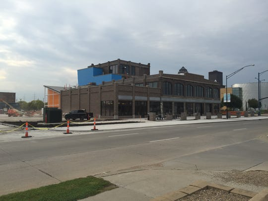 Guru BBQ will most likely be one of the first restaurants to open at 300 MLK. The restaurant sits on the lower right corner of the building.
