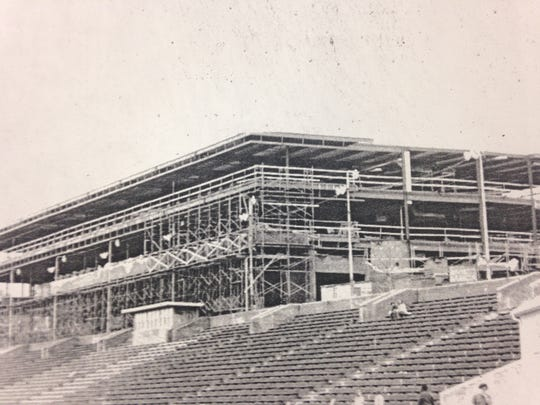 One view of the 1972-74 addition.