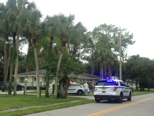 The scene at Saturday's shooting in North Fort Myers
