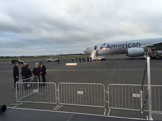 Major preparations have begun at the Philadelphia International Airport, where the pope is scheduled to depart in less than two hours.