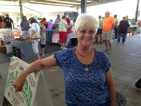 Nona Brummett has managed the West Tennessee Farmers' Market since 2010. She will retire Oct. 23.