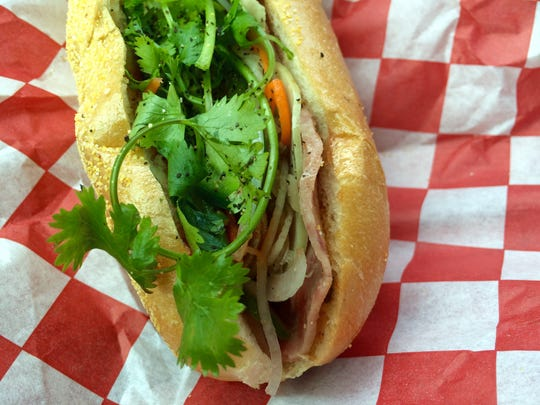 The No. 1 Special banh mi from Saigon Sandwiches in