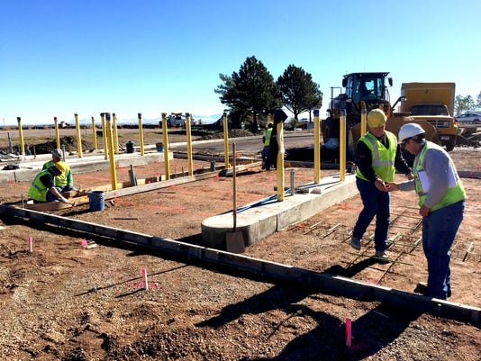 Airport toll plaza construction -PARKING