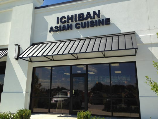 A new restaurant called Ichiban Asian Cuisine is pictured in a shopping center at the corner of Johnston Street and Broussard Road in Lafayette.