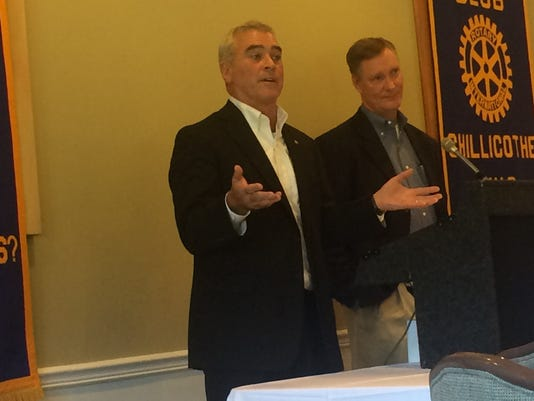 U.S. Congressmen Brad Wenstrup and Steve Stivers