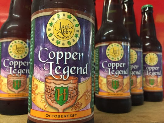 Jack's Abby Copper Legend Octoberfest is one of the best Märzen-style lagers available in our region.