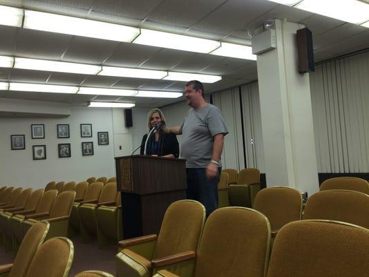 Annamarie and Stephen Harris