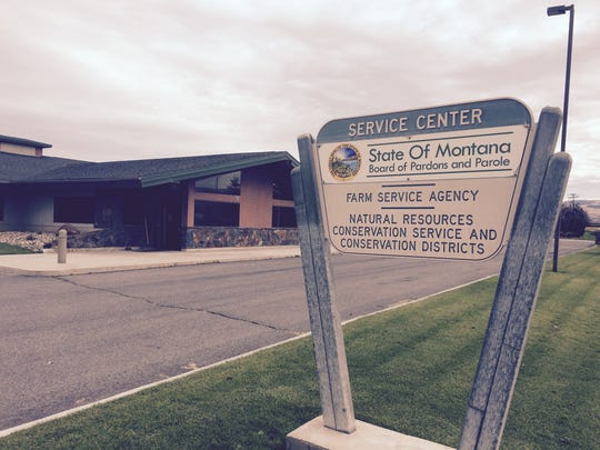 This is the Department of Pardons and Parole office in Deer Lodge