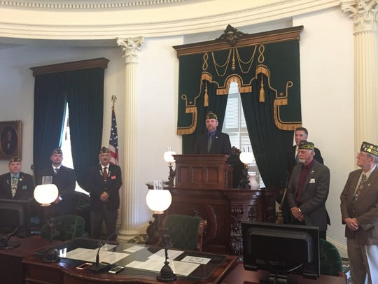 The Barre post of the Veterans of Foreign Wars honored