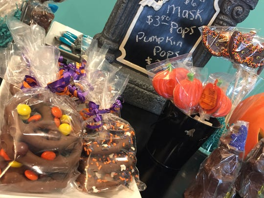 Chocolates by Leopold, on Reynolds Road in Johnson City, sells custom and holiday chocolates.