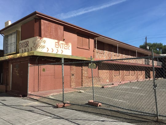 The Golden West Motor Lodge in downtown Reno could