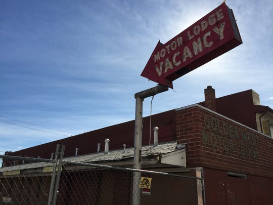The Golden West Motor Lodge in downtown Reno could become the first building demolished through the city's new blight initiative.