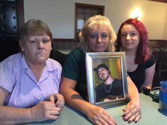 Michael Sautter's family