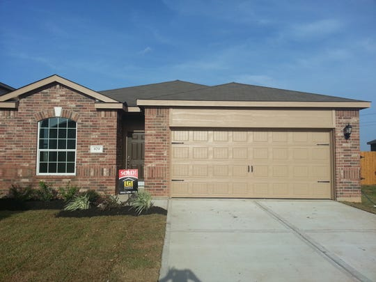 A photo of an entry-level home LGI Homes built in Houston.
