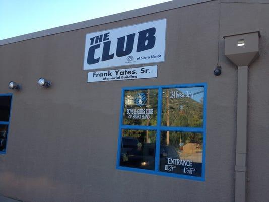 Boys & Girls Club Entrance