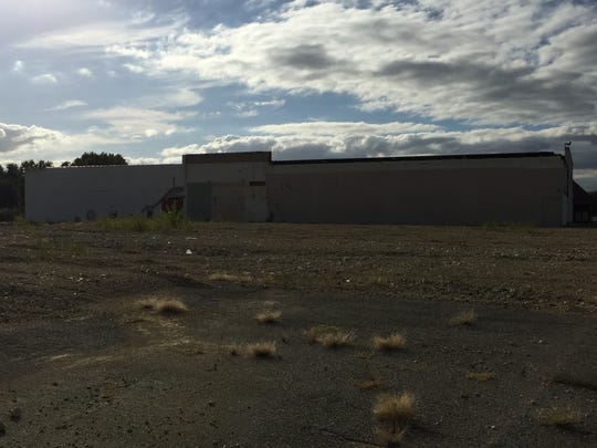 The vacant building of a former Foodtown and Bradlees