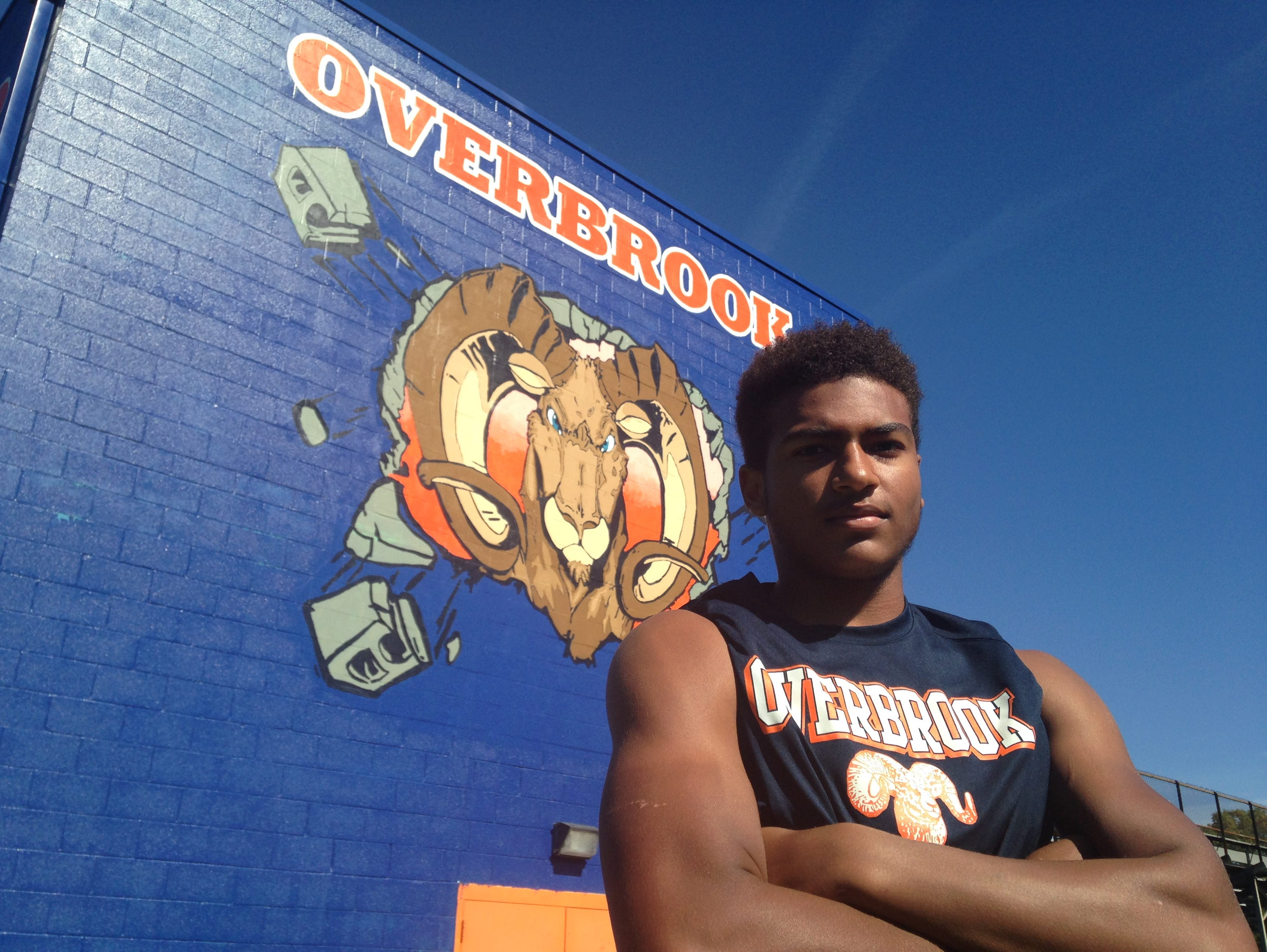 Tommy Wyatt has emerged the Overbrook's leader this season.