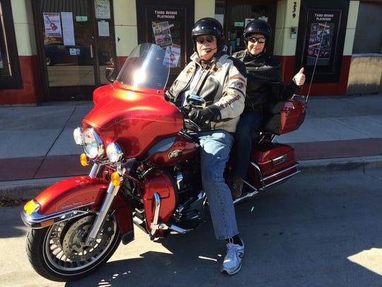 Former Sheriff Chuck Brann and Christine Tierney ready
