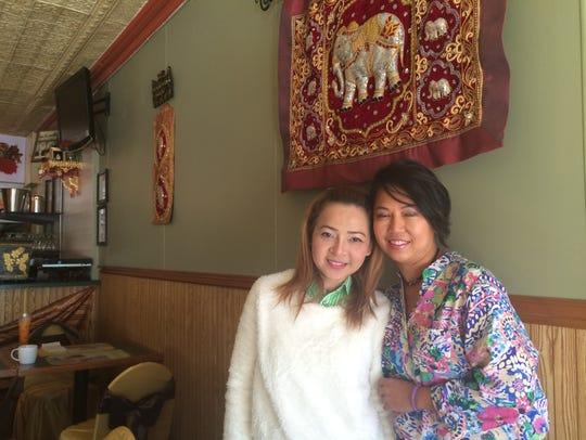 Ann Ehaney and Kay Visitsoraat ready Tasty Thai for