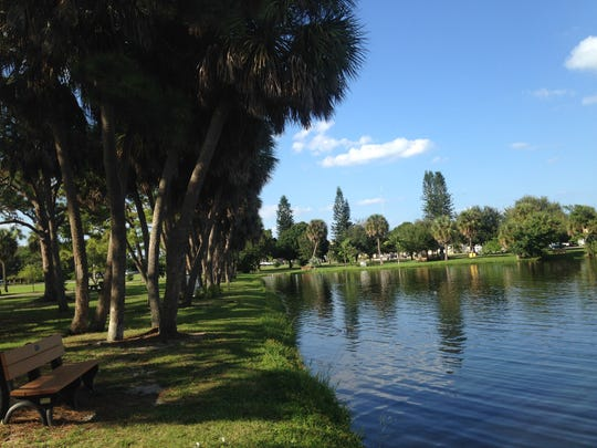 Gleason Park in Indian Harbour Beach is one of Brevard's few dog-friendly parks.