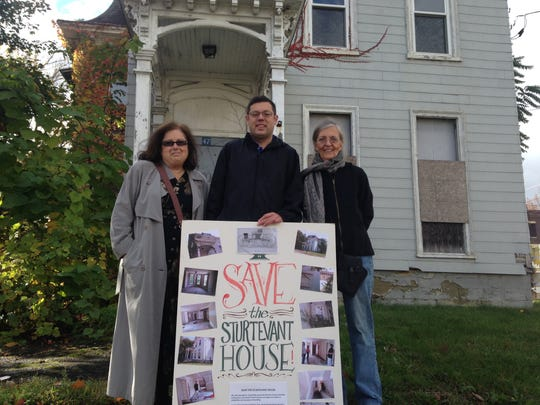 Rosemary Markoff (left), Joe Schuerch and Mary Webster