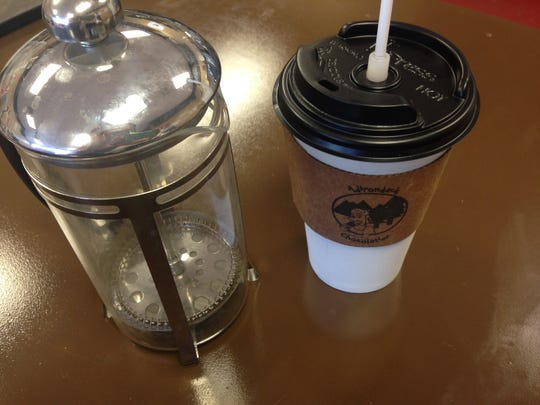 The Adirondack Chocolatier in Cape Coral now offers French press coffee to go.