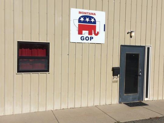 The Montana GOP headquarters is at 1300 Aspen St. in