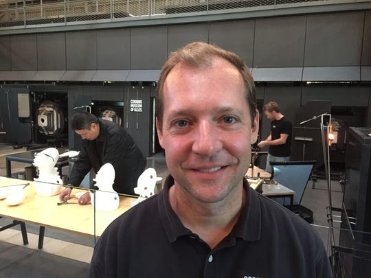Eric Meek, Corning Museum of Glass
