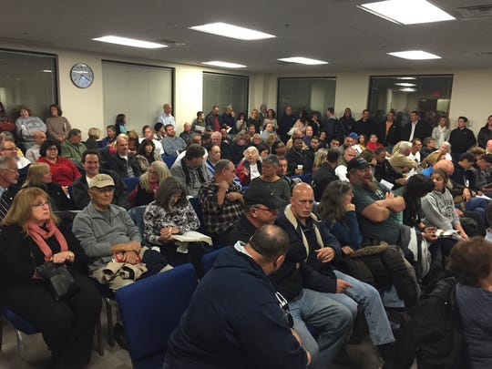 On Monday, nearly 150 residents came to the Township Council meeting in Howell, where public hearings related to a controversial affordable housing project was held.