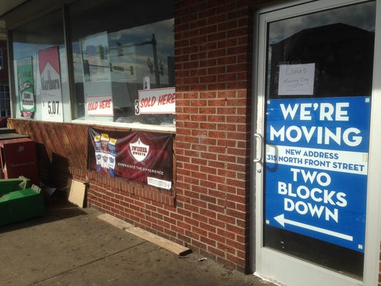Convenience store relocation