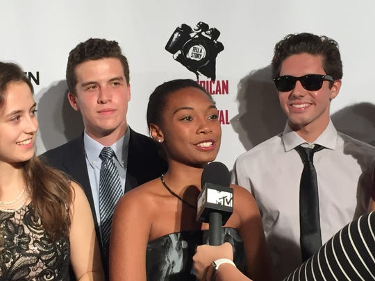 The Hun School senior Lauryn Henry class 16 was one of 500 student filmmakers whose original work was premiered at the 2015 All American High School Film Festival.