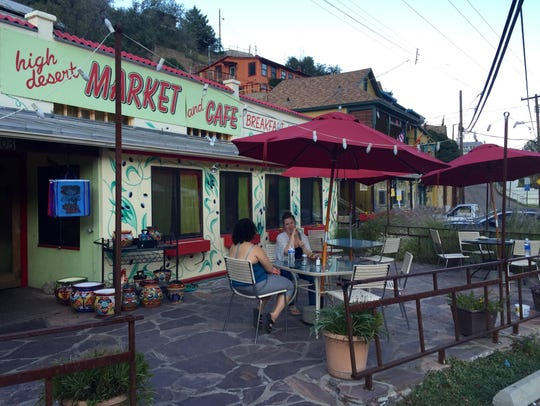 The High Desert Market and Cafe is good for breakfast,