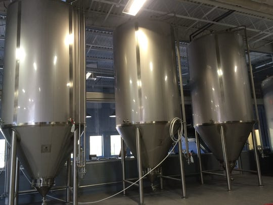 Double Nickel is greatly increasing its brewing capacity with the addition of a small-batch brewing system, for more experimental beers, as well as more fermenters, a new brite tank and a new centrifuge.