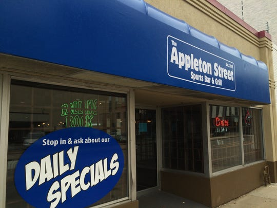 The Appleton Street Sports Bar & Grill opened in the
